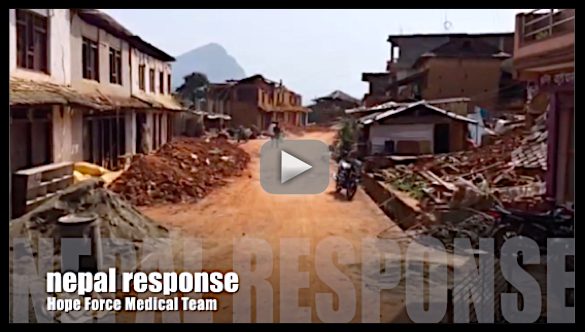 Hope Force Team #2 Brings Medical Relief to Nepal