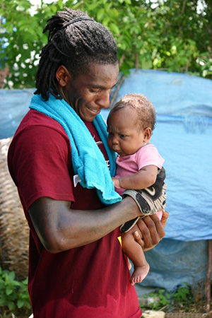 USC Cornerback Nickell Robey Intercepts Poverty in Haiti