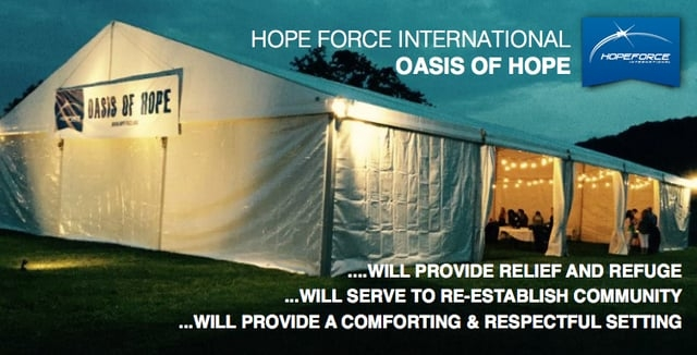 The Oasis of Hope – One HUGE step forward