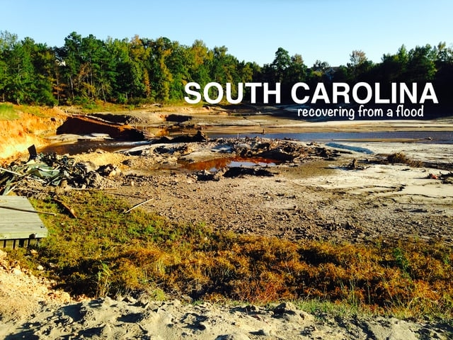 South Carolina: Recovering from a Flood