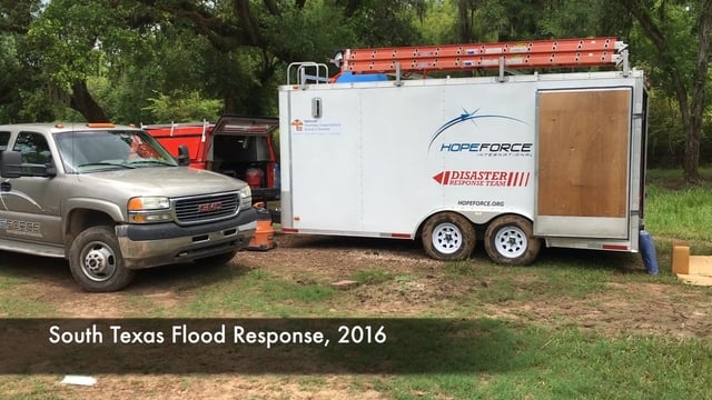 South Texas Flood Response 2016