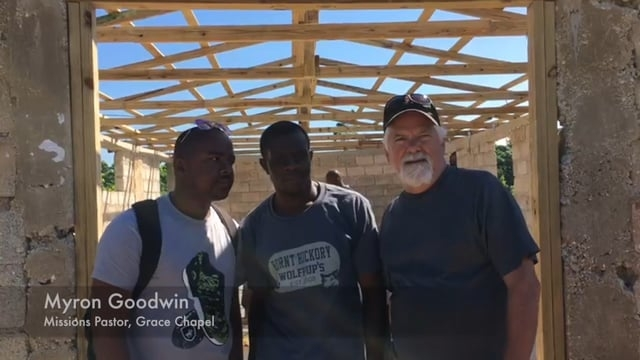 HFI Partner, Grace Chapel, working  in Haiti